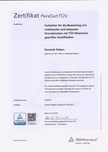 Zertifikat PersCert TÜV